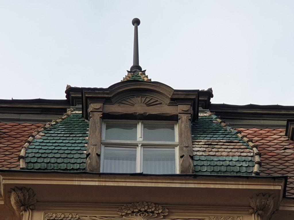 mansarda palazzo liberty a riga in Smilsu Iela 2