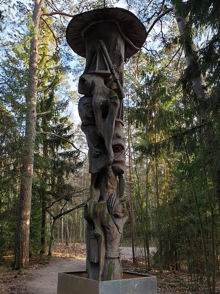 Collina delle Streghe Juodkranté Lituania 10