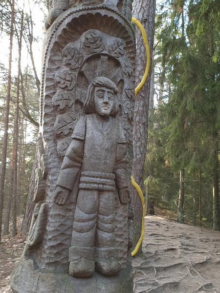 Collina delle Streghe Juodkranté Lituania 11