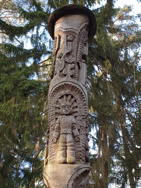 Collina delle Streghe Juodkranté Lituania 13