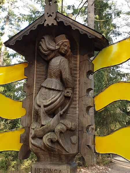 Collina delle Streghe Juodkranté Lituania 15