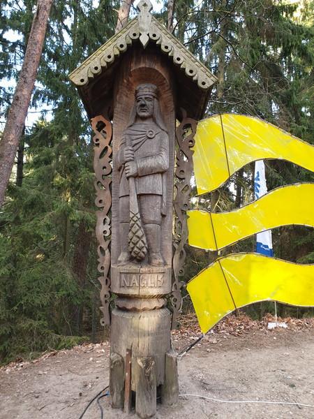 Collina delle Streghe Juodkranté Lituania 16