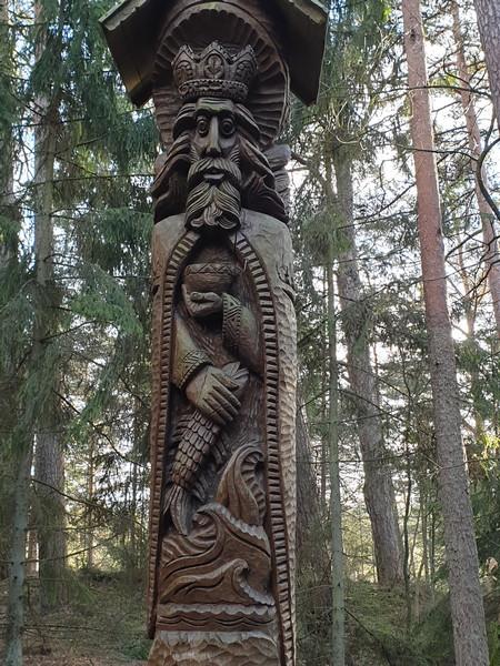 Collina delle Streghe Juodkranté Lituania 17