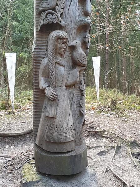 Collina delle Streghe Juodkranté Lituania 18