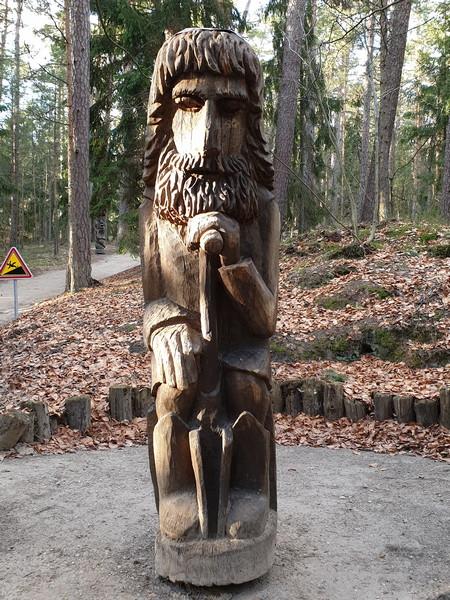 Collina delle Streghe Juodkranté Lituania 19