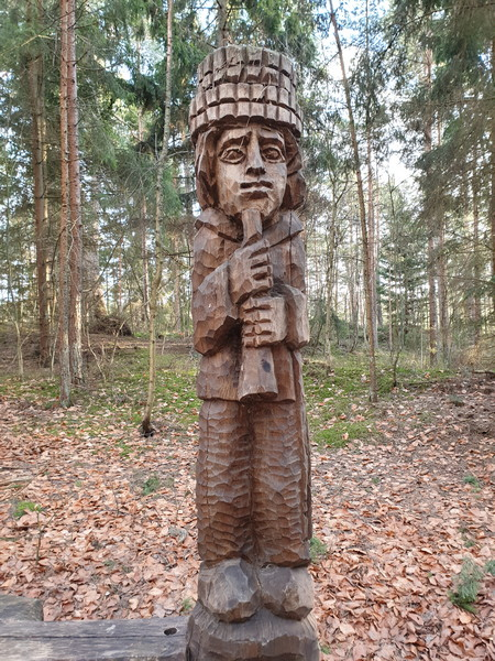 Collina delle Streghe Juodkranté Lituania 20