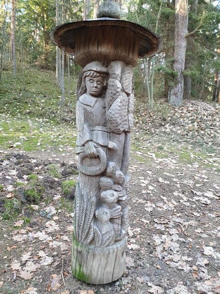 Collina delle Streghe Juodkranté Lituania 22