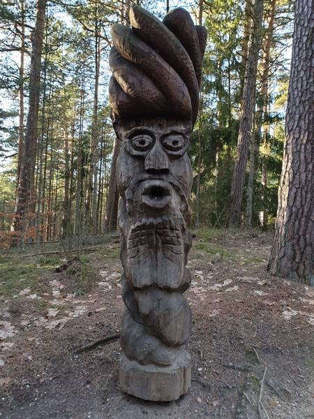 Collina delle Streghe Juodkranté Lituania 23