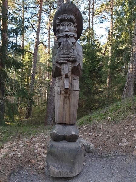 Collina delle Streghe Juodkranté Lituania 24