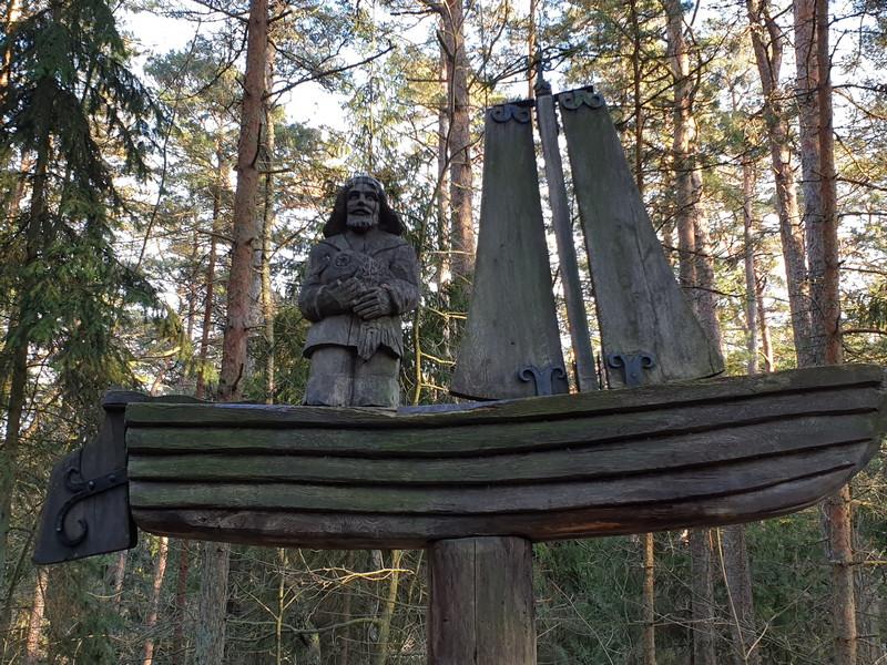 Collina delle Streghe Juodkranté Lituania 25