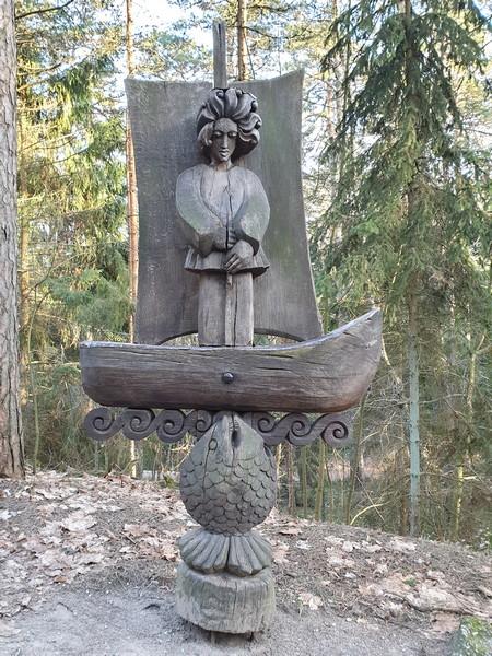Collina delle Streghe Juodkranté Lituania 26