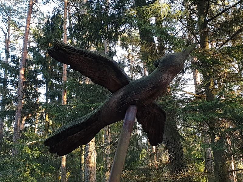 Collina delle Streghe Juodkranté Lituania 29