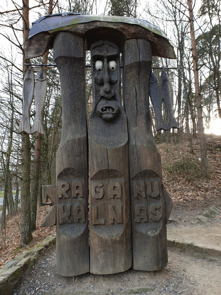 Collina delle Streghe Juodkranté Lituania 3