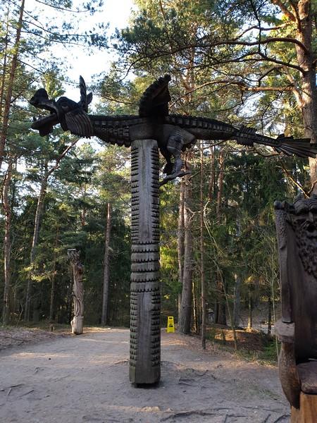 Collina delle Streghe Juodkranté Lituania 31