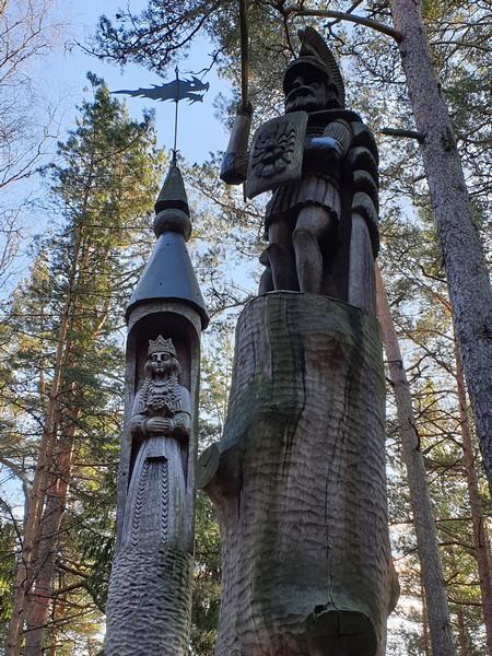 Collina delle Streghe Juodkranté Lituania 32
