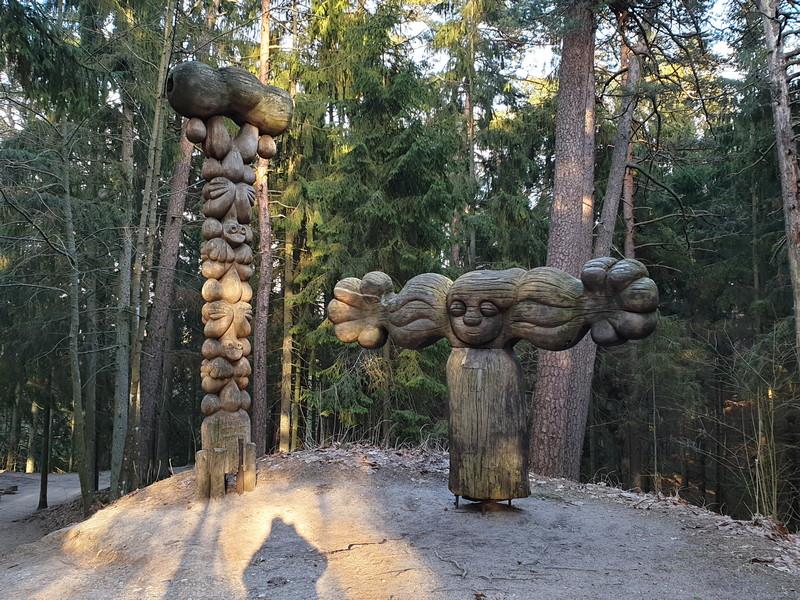 Collina delle Streghe Juodkranté Lituania 35
