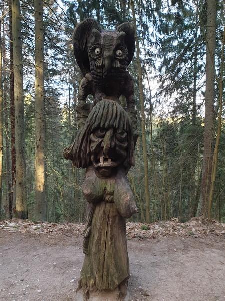 Collina delle Streghe Juodkranté Lituania 38