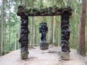 Collina delle Streghe Juodkranté Lituania 00