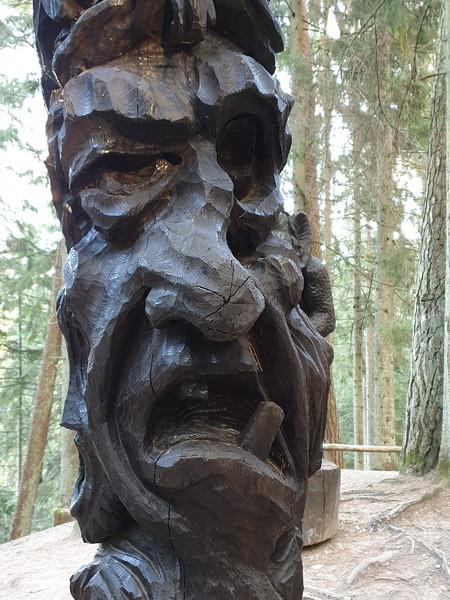 Collina delle Streghe Juodkranté Lituania 42