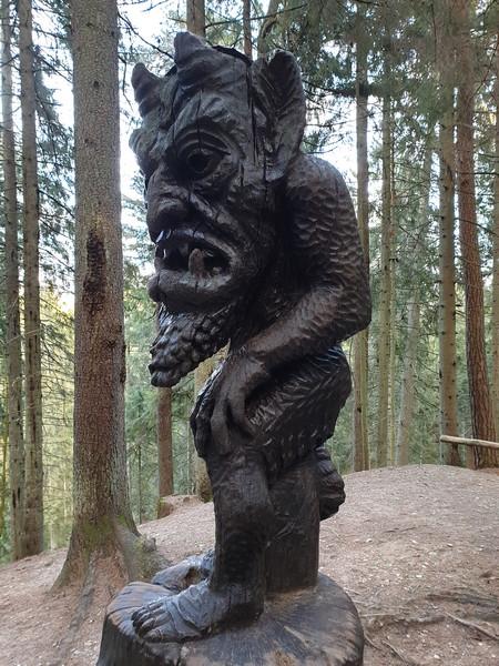 Collina delle Streghe Juodkranté Lituania 43
