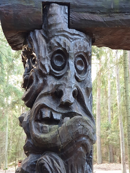 Collina delle Streghe Juodkranté Lituania 44