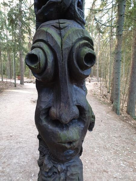 Collina delle Streghe Juodkranté Lituania 46