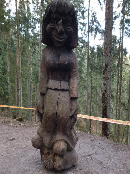Collina delle Streghe Juodkranté Lituania 47