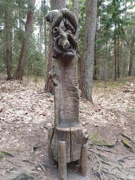 Collina delle Streghe Juodkranté Lituania 48