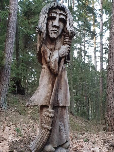 Collina delle Streghe Juodkranté Lituania 56