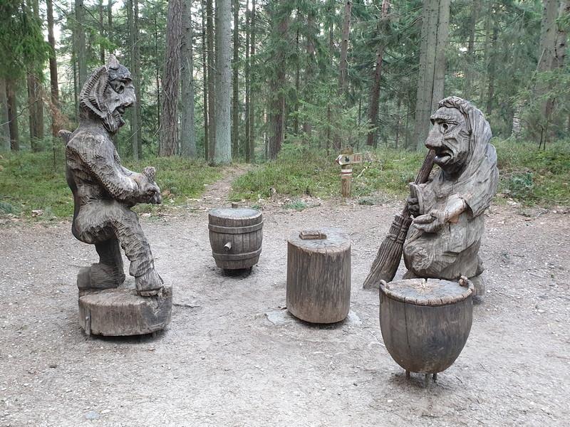 Collina delle Streghe Juodkranté Lituania 57