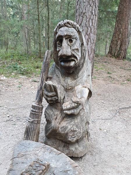 Collina delle Streghe Juodkranté Lituania 58