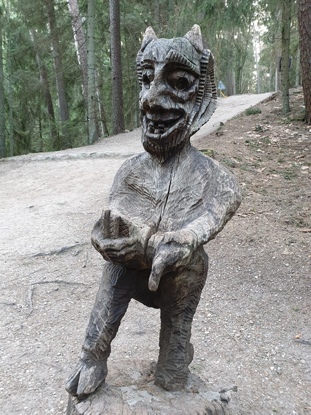 Collina delle Streghe Juodkranté Lituania 59
