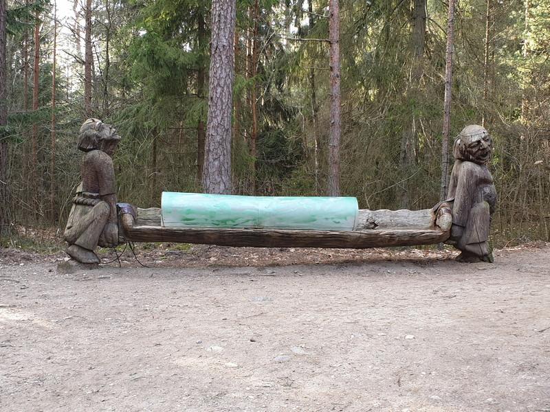 Collina delle Streghe Juodkranté Lituania 6
