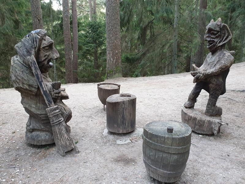 Collina delle Streghe Juodkranté Lituania 60