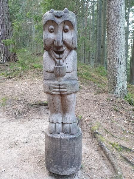 Collina delle Streghe Juodkranté Lituania 61