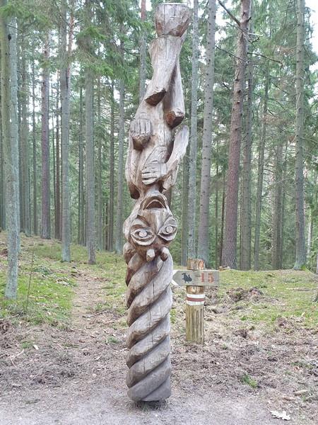 Collina delle Streghe Juodkranté Lituania 62