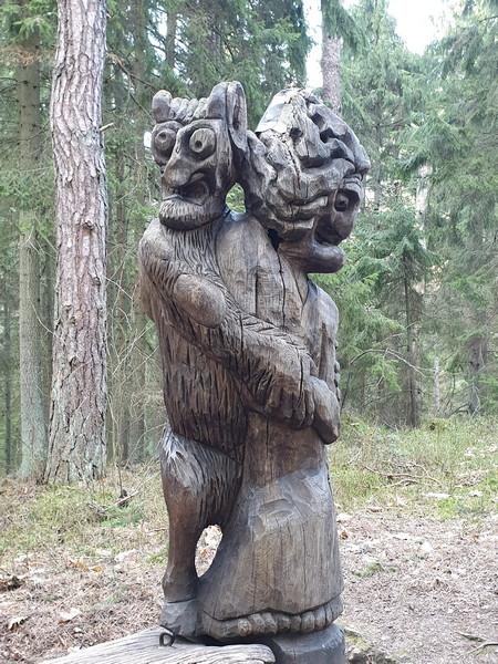 Collina delle Streghe Juodkranté Lituania 63