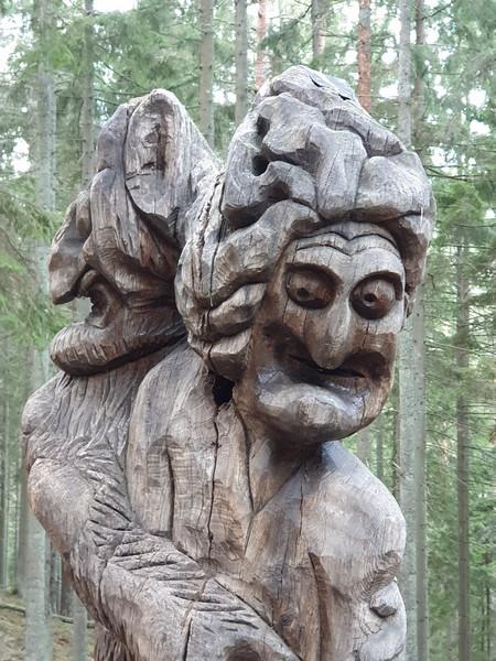 Collina delle Streghe Juodkranté Lituania 64