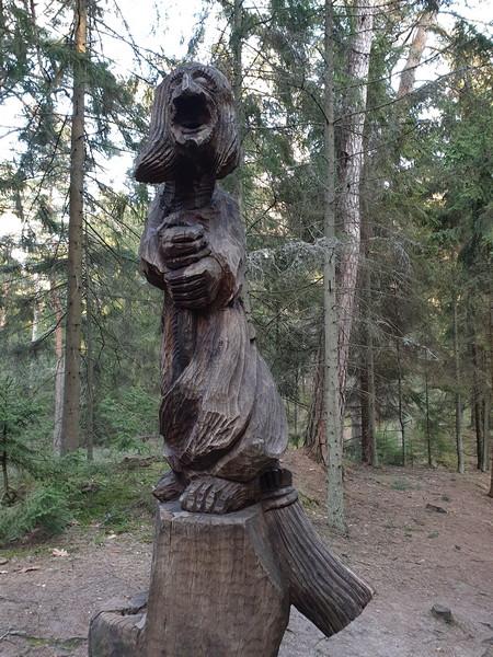 Collina delle Streghe Juodkranté Lituania 65