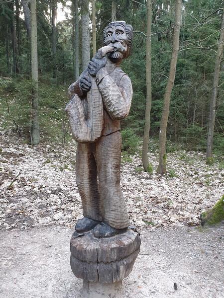 Collina delle Streghe Juodkranté Lituania 67