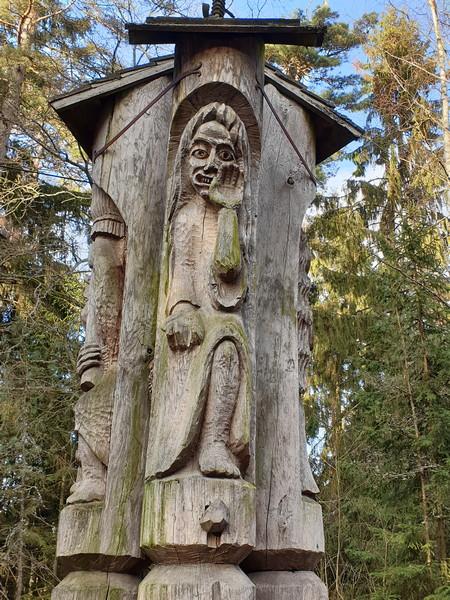Collina delle Streghe Juodkranté Lituania 7