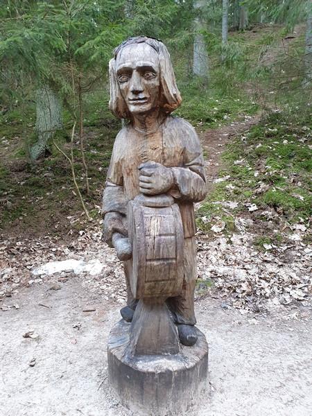 Collina delle Streghe Juodkranté Lituania 70