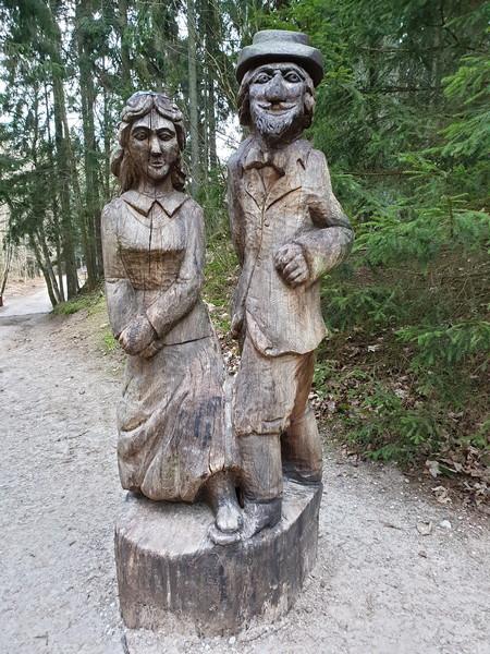 Collina delle Streghe Juodkranté Lituania 71