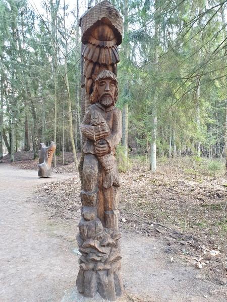 Collina delle Streghe Juodkranté Lituania 73