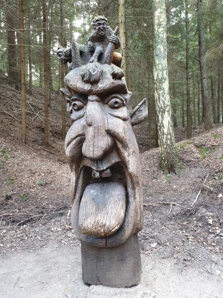 Collina delle Streghe Juodkranté Lituania 74