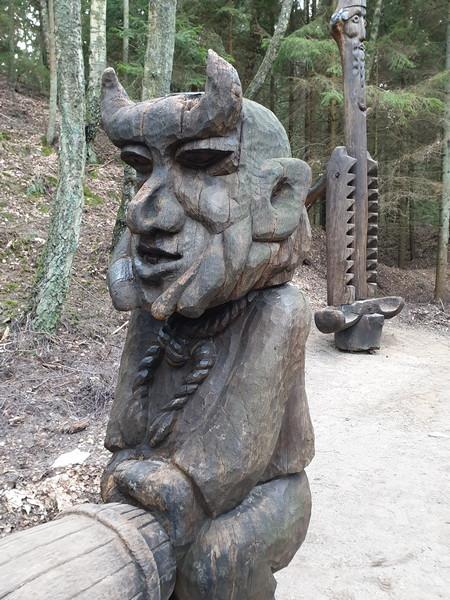 Collina delle Streghe Juodkranté Lituania 77