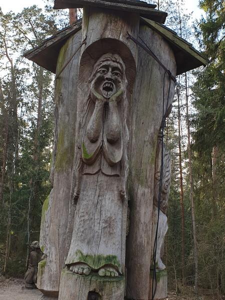Collina delle Streghe Juodkranté Lituania 8
