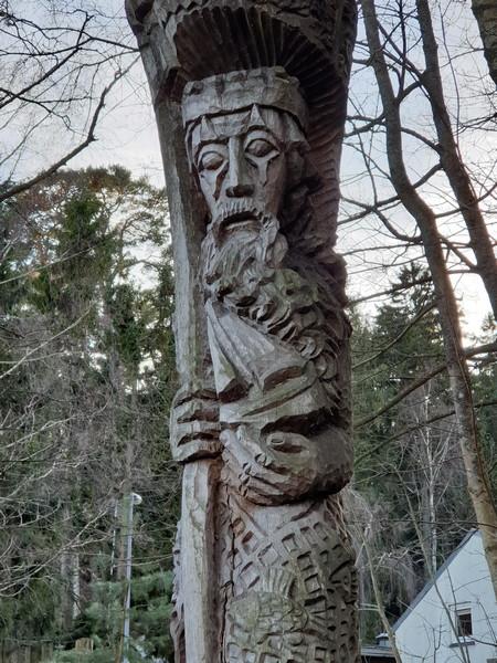 Collina delle Streghe Juodkranté Lituania 80