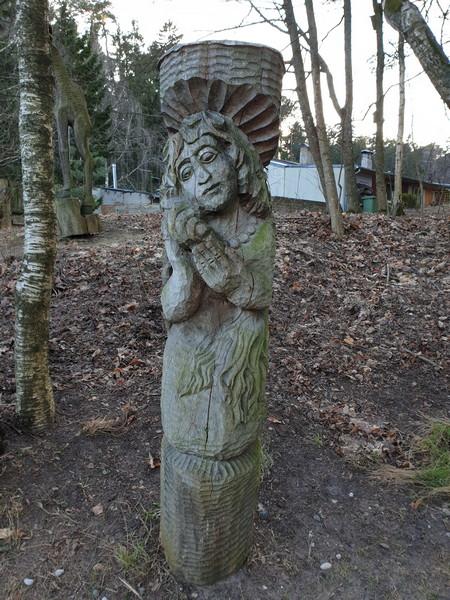 Collina delle Streghe Juodkranté Lituania 81