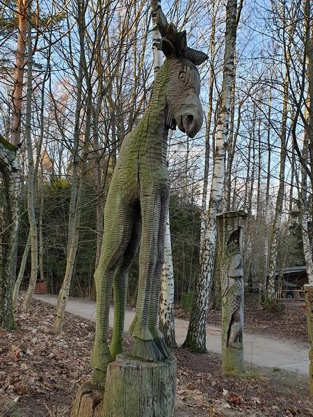 Collina delle Streghe Juodkranté Lituania 82